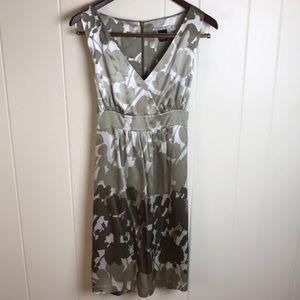 Anthropologie Silk Midi Dress